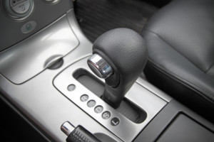 Gear shift inside a car for an automatic transmission