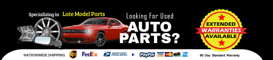 Are you looking for Quality Recycled Used Auto Parts with a Guarantee?